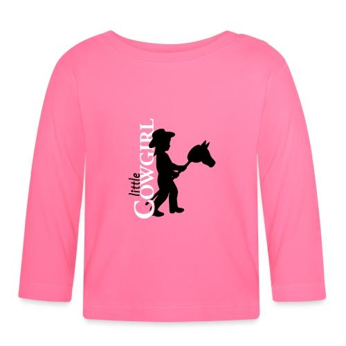 LittleCowgirl's - Baby Langarmshirt