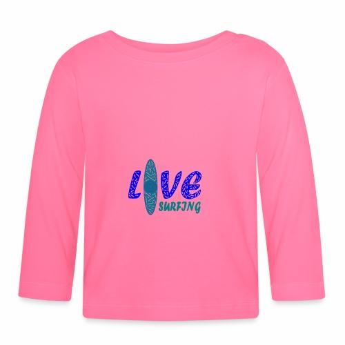 Love Surfing - Baby Langarmshirt