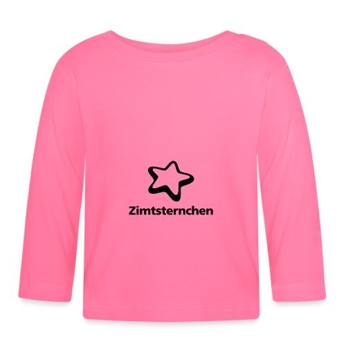 Zimtsternchen - Baby Langarmshirt