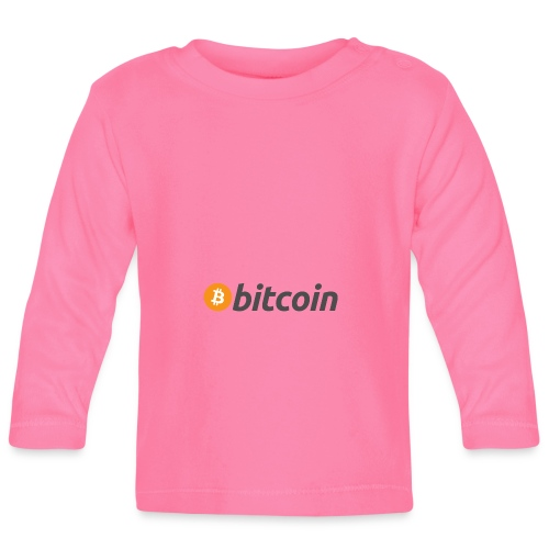 bitcoin MOON - Baby Langarmshirt