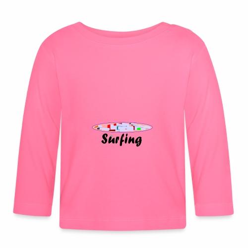 Surfing - Baby Langarmshirt