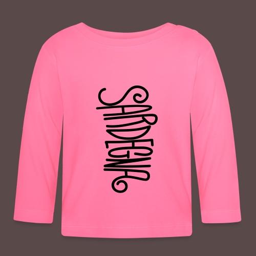 Sardegna Calligrafica - Maglietta a manica lunga per bambini