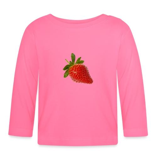 Erdbeere - Baby Langarmshirt