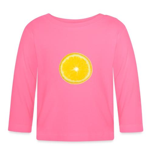 Orange - Baby Langarmshirt