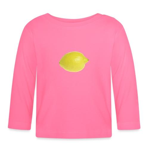 Zitrone - Baby Langarmshirt