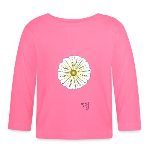 marguerite png - T-shirt manches longues Bébé