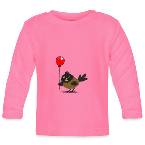 vogeltje met ballon - T-shirt