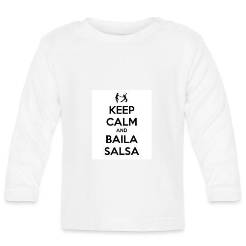 keep-calm-and-baila-salsa-41 - Maglietta a manica lunga per bambini