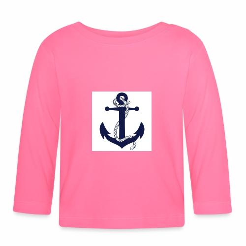 Anchor4 - Baby Long Sleeve T-Shirt