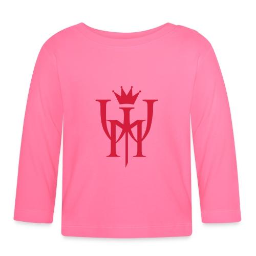 Logo MW Czerwone - Koszulka niemowlęca z długim rękawem
