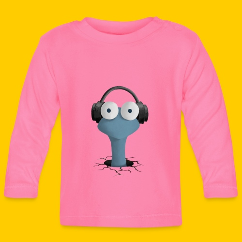 Musicworm - Långärmad T-shirt baby