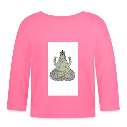 indu - Camiseta manga larga bebé
