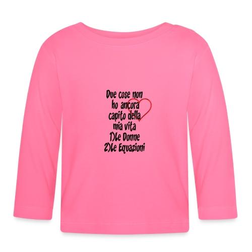 Donne Equazioni - Maglietta a manica lunga per bambini