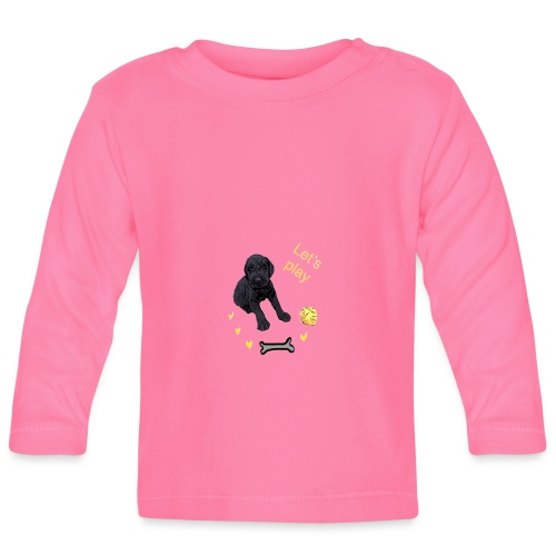 Giant Schnauzer puppy - Baby Long Sleeve T-Shirt