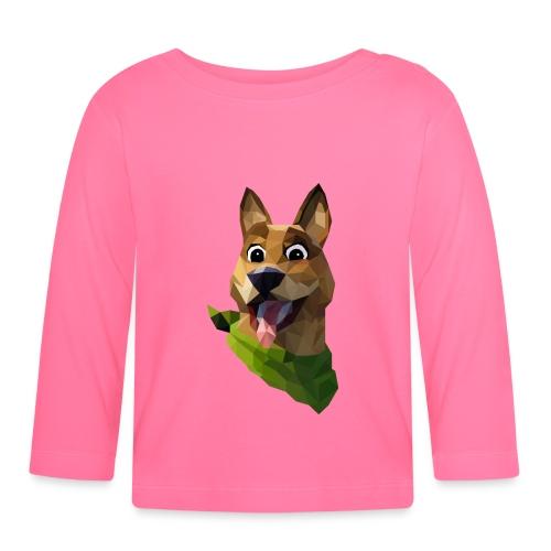 LOW POLY DOGO - T-shirt manches longues Bébé