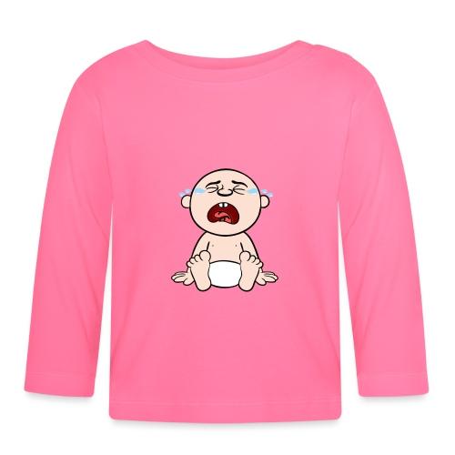 Heulendes Baby - Baby Langarmshirt