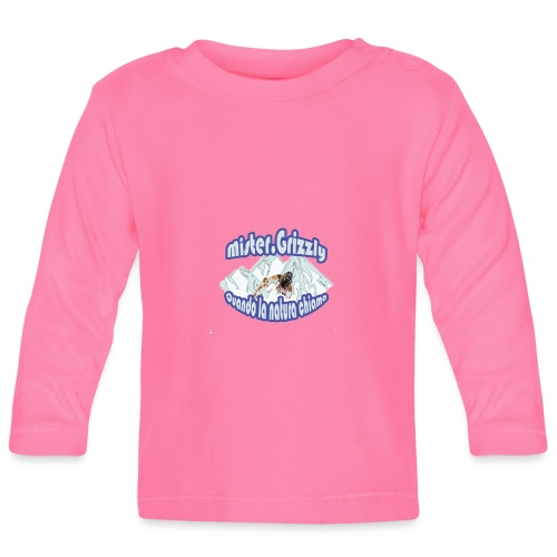 MISTER GRIZZLY - Maglietta a manica lunga per bambini