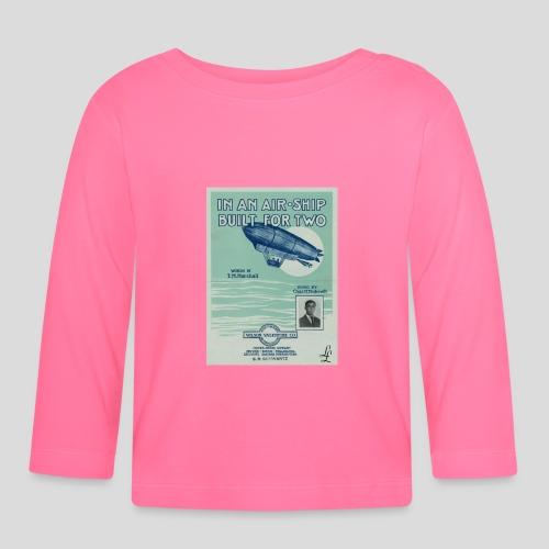 air ship 1 jpg - T-shirt manches longues Bébé