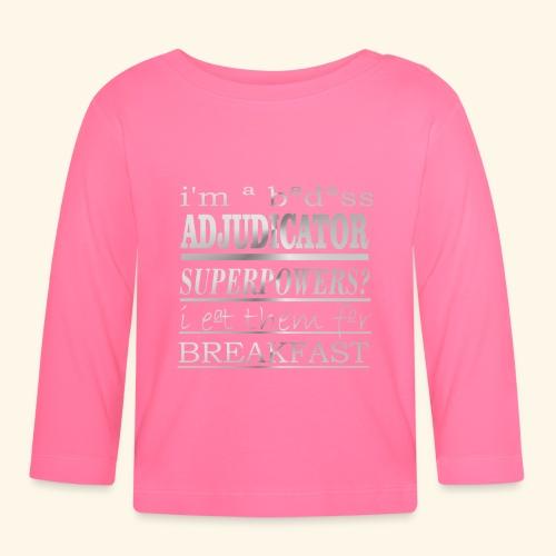ADJUDICATOR - Maglietta a manica lunga per bambini