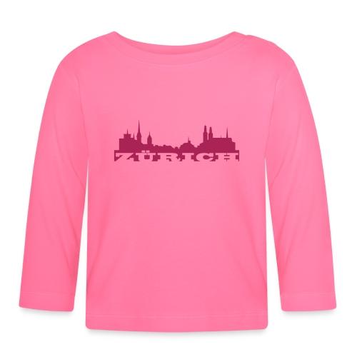 Zürich Skyline - Baby Langarmshirt