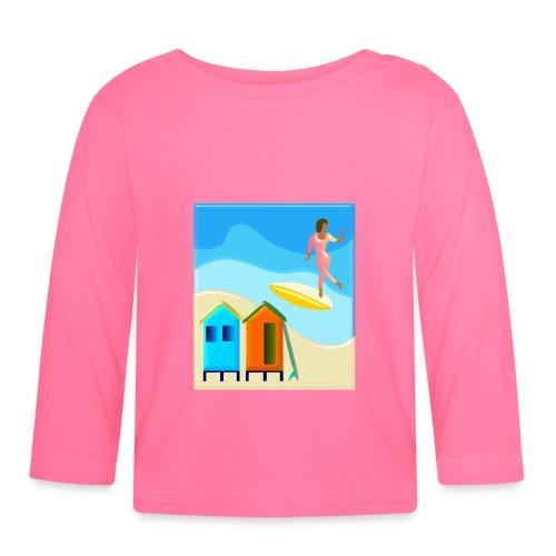 Surf shack - Baby Langarmshirt