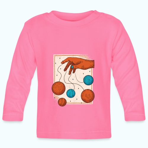 Planets On A String - Baby Long Sleeve T-Shirt