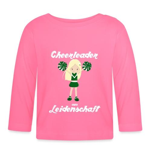 cheerleader aus leidenschaft cheerleading Sport - Baby Langarmshirt