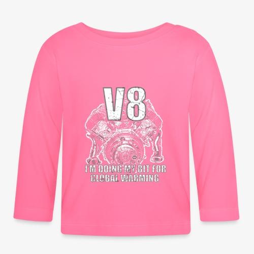 V8, Tuningszene, Beitrag zur Klimaerwärmung - Baby Langarmshirt