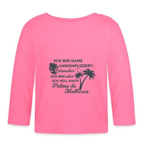 Palma de Mallorca - Geschenk - Geschenkidee - Baby Langarmshirt