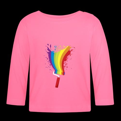 Paint roller Vivid Color - Baby Langarmshirt