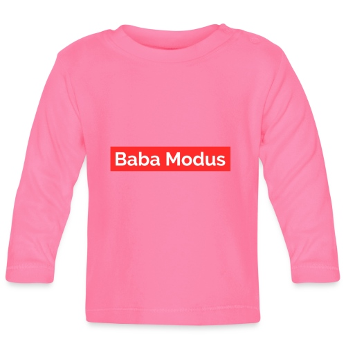 Baba Modus - Baby Langarmshirt