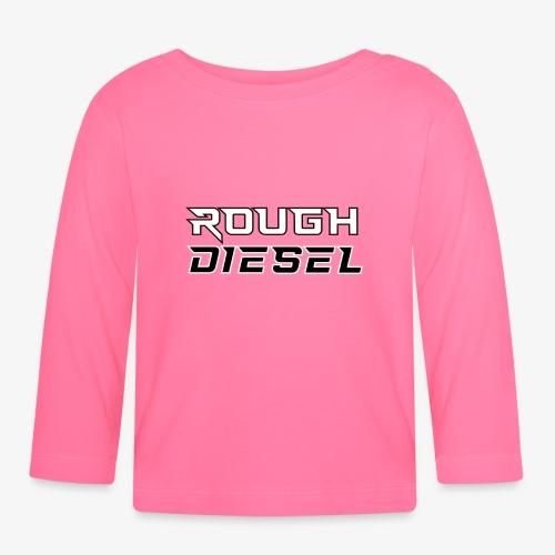 Rough Diesel Fuel I Chiptuning Diesel I Hubraum - Baby Langarmshirt