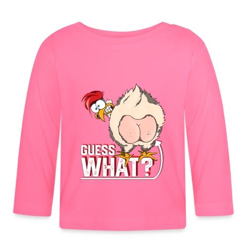 GuessWhat Chicken Butt   Chicken Lover Farm - Maglietta a manica lunga per bambini