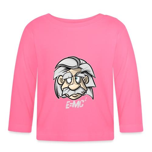 Albert Einstein E=MC2 - Baby Langarmshirt