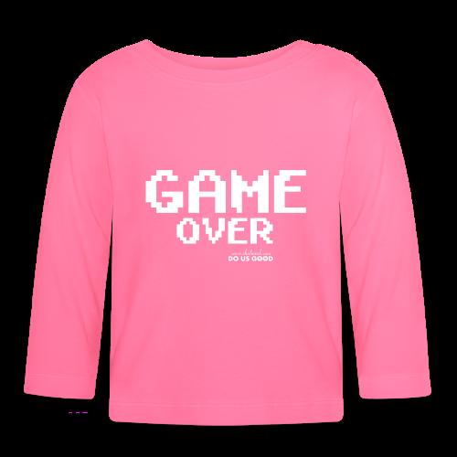 GAME OVER - Vauvan pitkähihainen paita