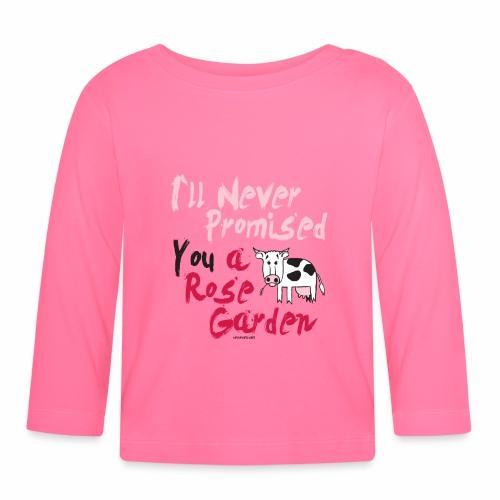 Hauskat Lehmä paidat, tekstiilit- ja lahjatuotteet - Vauvan pitkähihainen paita