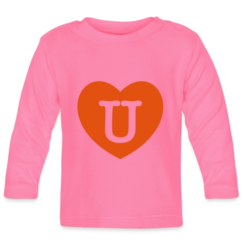 LOVE- U Heart - Baby Long Sleeve T-Shirt