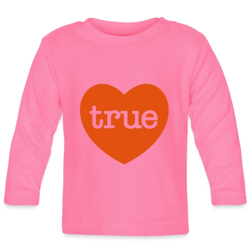 TRUE LOVE Heart - Baby Long Sleeve T-Shirt
