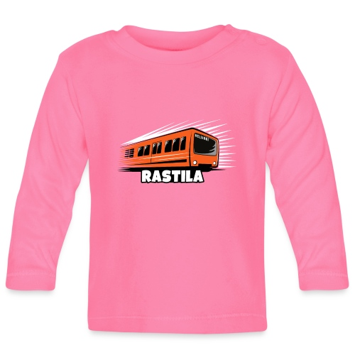 RASTILA Helsingin metro t-paidat, vaatteet, lahjat - Vauvan pitkähihainen paita