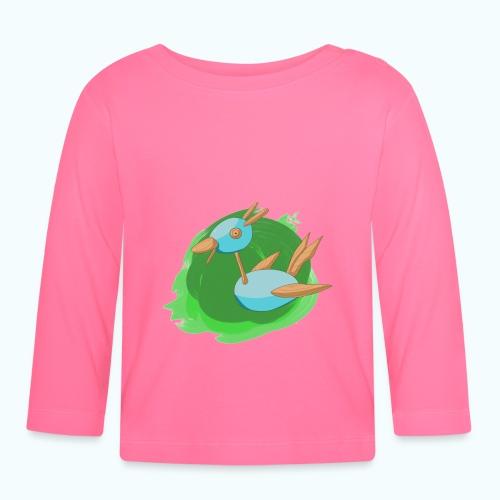 WOOD FREE real drawing - Baby Long Sleeve T-Shirt