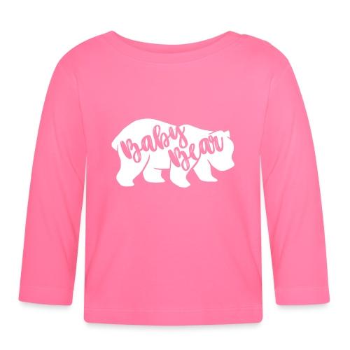 Baby Bear - für Eltern-Baby-Partnerlook - Baby Langarmshirt