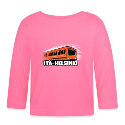 METRO ITÄ-HELSINKI T-paidat, Hupparit, lahjat ym. - Vauvan pitkähihainen paita