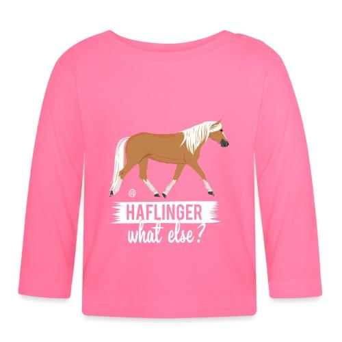 Haflinger- what else MP - Baby Langarmshirt