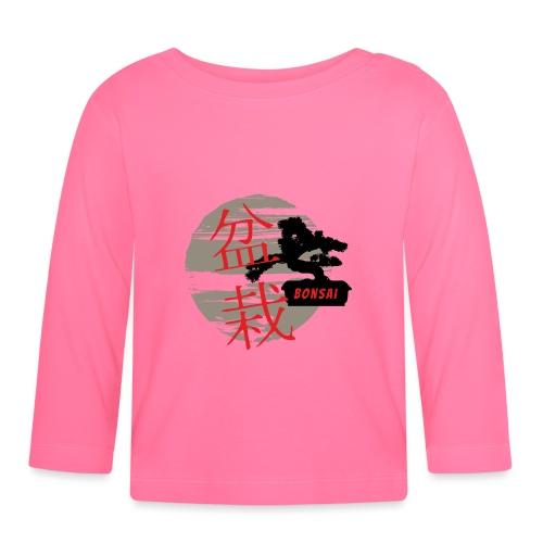 Bonsai - Koszulka niemowlęca z długim rękawem
