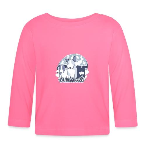 Bullterrier WELPEN - Baby Langarmshirt