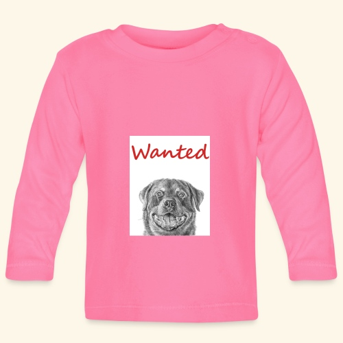 WANTED Rottweiler - Baby Long Sleeve T-Shirt
