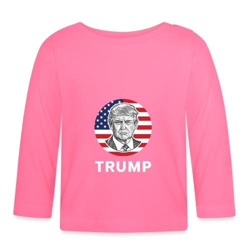 Donald trump - Baby Langarmshirt