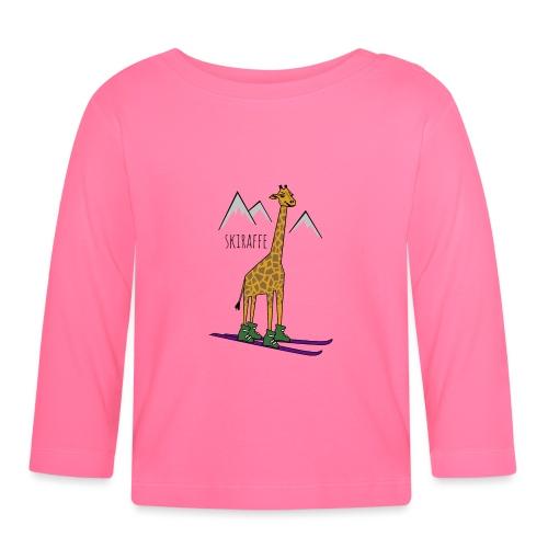 Skiraffe - Baby Long Sleeve T-Shirt