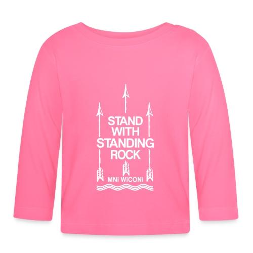 Stand - Langærmet babyshirt