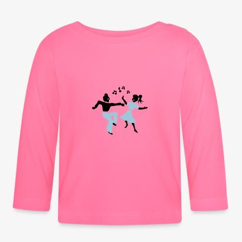 retro dance jive patjila - Baby Long Sleeve T-Shirt